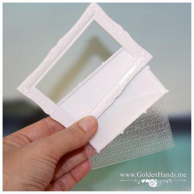 Основа под вышивку с перфорацией (рамка магнит) ВИНТАЖ