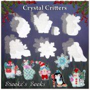 Основа под вышивку с перфорацией BB «CrystalCritters»